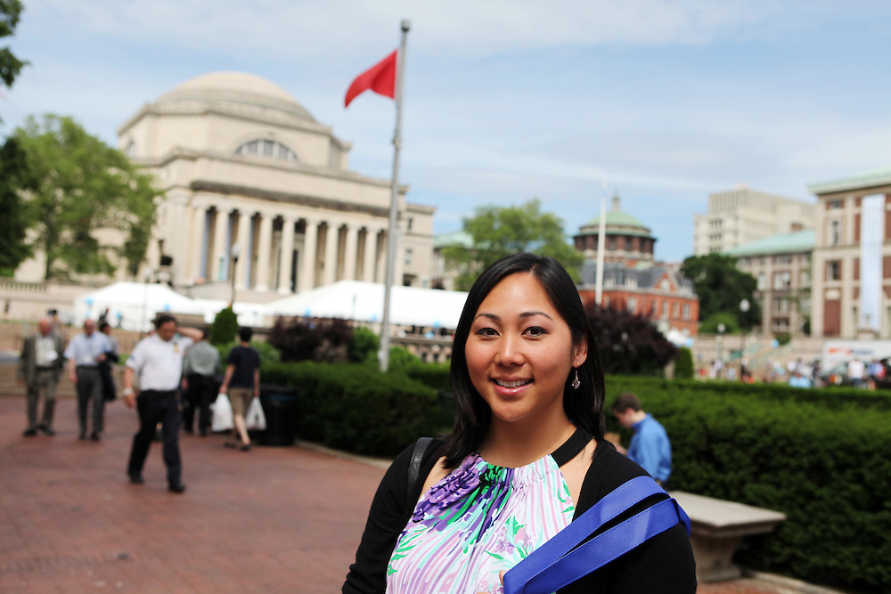 """Emily Tang '06.Father: Robert Tang '71.Brother: Eric Tang '02.Brother: Brian Tang '03..""""Make as much money as you can in high school, New York is expensive!""""..""""Make sure to try the pear cider at the farmer's market.""""..""""Study abroad -- if you're going to the most diverse campus in the country, you should have a diverse education."""""""