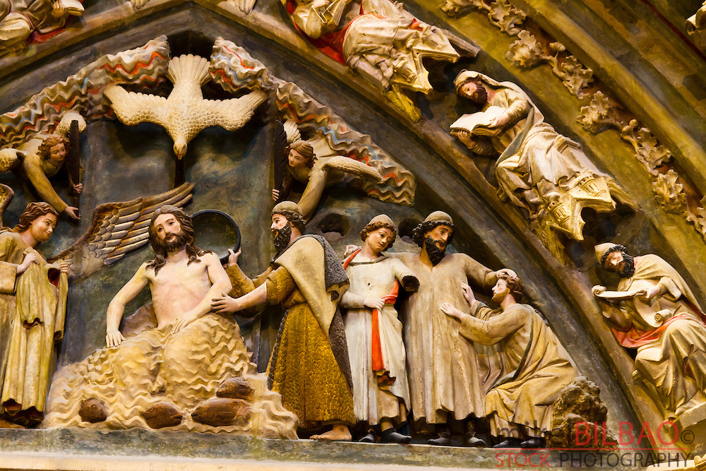 Cathedral detail. Burgos city. Castile and Leon, Spain.