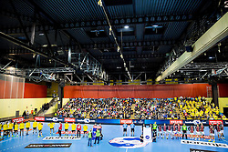 Arena during handball match between RK Gorenje Velenje and HSV Hamburg (GER) in 8th Round of EHF Champions League 2014 on February 5, 2014 in Rdeca Dvorana, Velenje, Slovenia. Photo by Vid Ponikvar / Sportida