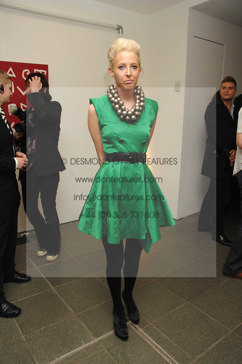 The HON.SOPHIA HESKETH at a party to celebrate the publication of Vivienne Westwood's Opus held at The Serpentine Gallery, Kensington Gardens, London W2 on 12th February 2008.<br /><br />NON EXCLUSIVE - WORLD RIGHTS