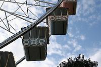 Big wheel at fairground in Nice France<br />