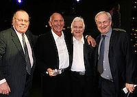 Willie Robertson, Bill Curbishley, Ed Bicknell and Paul Gambaccini