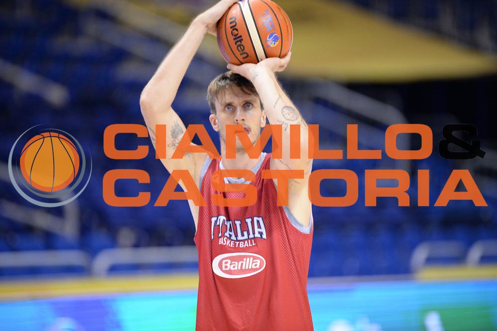 DESCRIZIONE: Berlino EuroBasket 2015 - allenamento<br /> GIOCATORE: Achille Polonara<br /> CATEGORIA: Allenamento<br /> SQUADRA: Italia Italy<br /> EVENTO:  EuroBasket 2015 <br /> GARA: Berlino EuroBasket 2015 - Allenamento<br /> DATA: 03/09/2015<br /> SPORT: Pallacanestro<br /> AUTORE: Agenzia Ciamillo-Castoria/M.Longo<br /> GALLERIA: FIP Nazionali 2015<br /> FOTONOTIZIA: Berlino EuroBasket 2015 - Allenamento