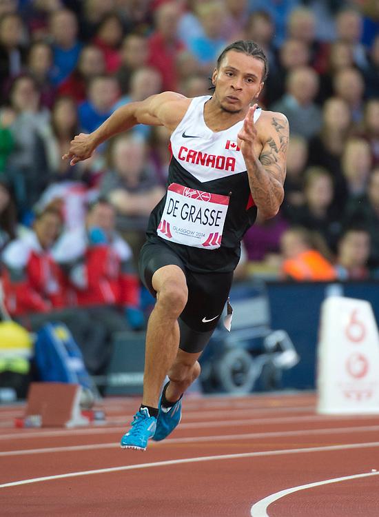 Glasgow, JULY 31, 2014: Weightlifting, Athletics, Squash
