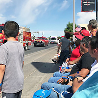 People lined the streets of Grants Wednesday for the annual Fourth of July Parade.
