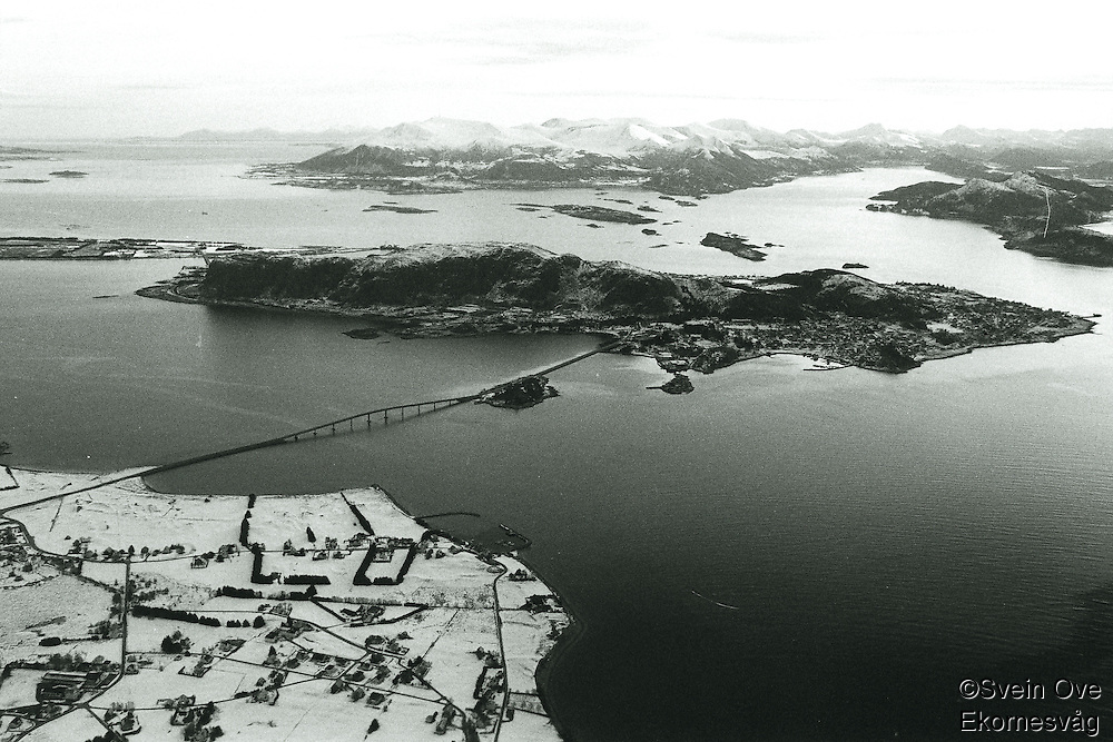 Flyfoto av Valderøya og Giske. <br /> Foto: Svein Ove Ekornesvåg