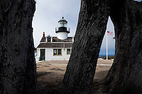 Point Pinos Lighthouse (Oldest Continuously Operating Lighthouse on the West Coast), Pacific Grove, California