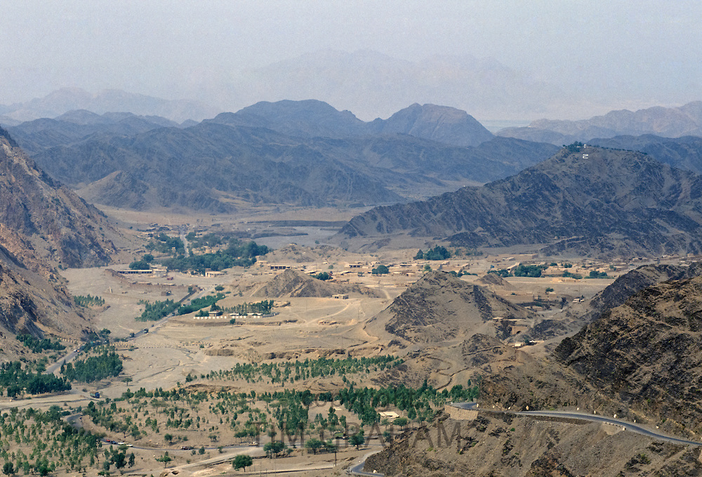Afghanistan from the The Khyber Pass near Peshawar, Pakistan