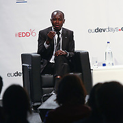 20160615 - Brussels , Belgium - 2016 June 15th - European Development Days - The development and trade link and the 2030 Agenda for Sustainable Development - Nestor Dehouindji , Young Leader - Trade , Growth and Sustainable Development , Benin © European Union
