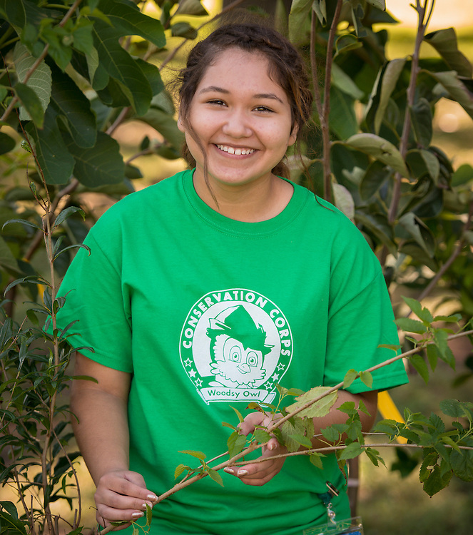 Loren Ramon, 15, Furr HS Green Ambassador<br />
