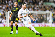 Leeds United midfielder Jack Harrison (22) during the EFL Sky Bet Championship match between Leeds United and Brentford at Elland Road, Leeds, England on 21 August 2019.
