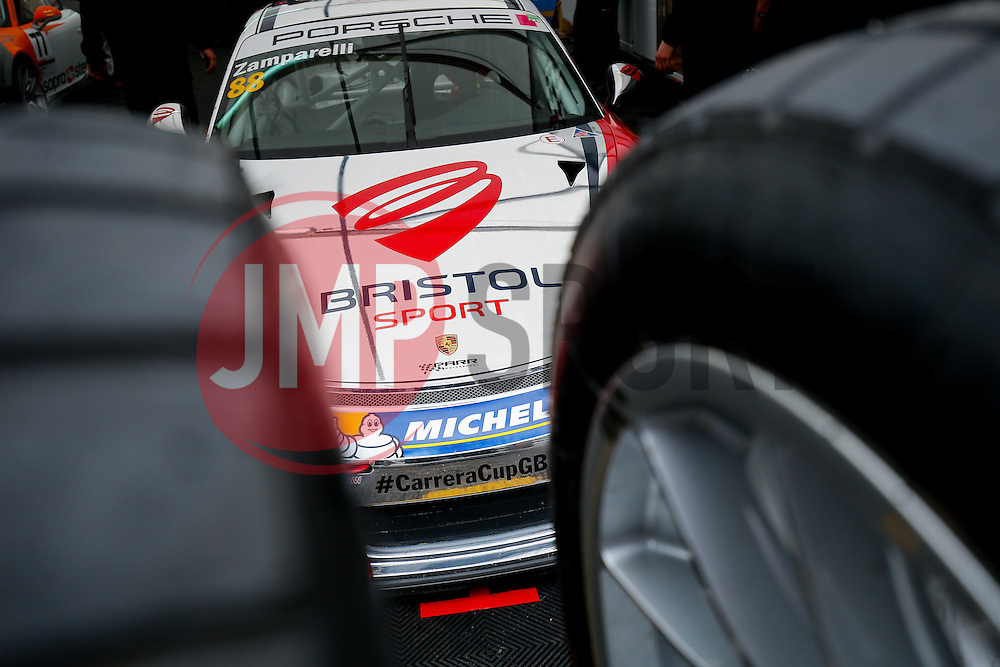 Dino Zamparelli | Bristol Sport Racing | #88 Porsche 911 GT3 Cup car | Porsche Carrera Cup GB - Photo mandatory by-line: Rogan Thomson/JMP - 07966 386802 - 04/04/2015 - SPORT - MOTORSPORT - Fawkham, England - Brands Hatch Circuit - British Touring Car Championship Meeting.