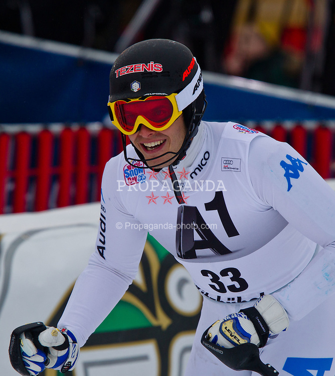 22.01.2012, Ganslernhang, Kitzbuehel, AUT, FIS Weltcup Ski Alpin, 72. Hahnenkammrennen, Herren, Slalom 1. Durchgang, im Bild Christof Innerhofer (ITA) // Christof Innerhofer of Italy during Slalom race 1st run of 72th Hahnenkammrace of FIS Ski Alpine World Cup at 'Ganslernhang' course in Kitzbuhel, Austria on 2012/01/22. EXPA Pictures © 2012, PhotoCredit: EXPA/ Markus Casna