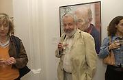 Mike Leigh. John Kobal photographic Portrait Awards 2002. National Portrait Gallery. 2 September 2002. © Copyright Photograph by Dafydd Jones 66 Stockwell Park Rd. London SW9 0DA Tel 020 7733 0108 www.dafjones.com