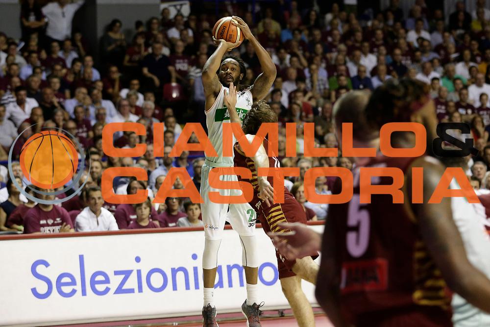 Randolph Levi<br /> Umana Reyer Venezia - Sidigas Scandone Avellino<br /> Lega Basket Serie A 2016/17 Semifinali Gara 01<br /> Venezia, 26/05/2017<br /> Foto Ciamillo-Castoria / M. Brondi