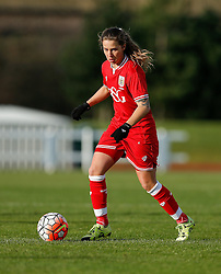 Tatiana Pinto of Bristol City Women in action - Mandatory byline: Rogan Thomson/JMP - 14/02/2016 - FOOTBALL - Stoke Gifford Stadium - Bristol, England - Bristol City Women v Queens Park Rangers Ladies - SSE Women's FA Cup Third Round Proper.