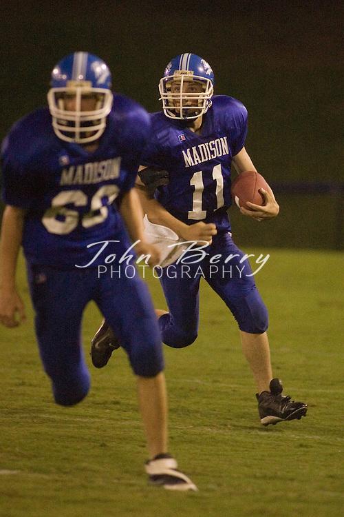 Freshman Football .vs Greene .September 13, 2006