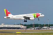 TAP Air Portugal Airbus A319-100 (CS-TTD) at Milan - Malpensa (MXP / LIMC) Italy