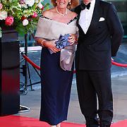 NLD/Amsterdam/20110527 - 40ste verjaardag Prinses Maxima, Boele Staal en partner