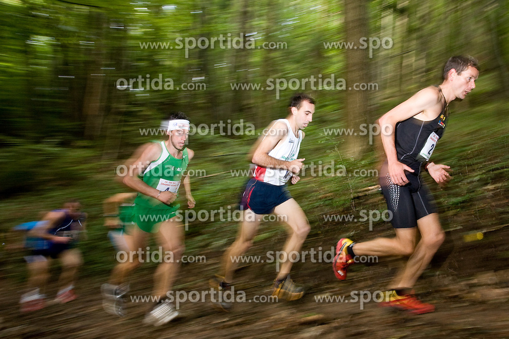 Marco De Gasperi of Italy, Mitja Kosovelj of Slovenia and Jonathan Wyatt of New Zeland at the 30th Smarna Gora Mountain running race as the final race of WMRA GRAND PRIX and Slovenian mountain running cup, on October 3, 2009, Smarna Gora, Ljubljana, Slovenija. (Photo by Vid Ponikvar / Sportida)