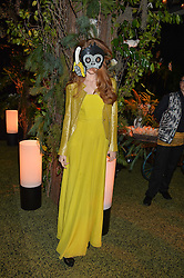 LILY COLE at The Animal Ball presented by Elephant Family held at Victoria House, Bloomsbury Square, London on 22nd November 2016.
