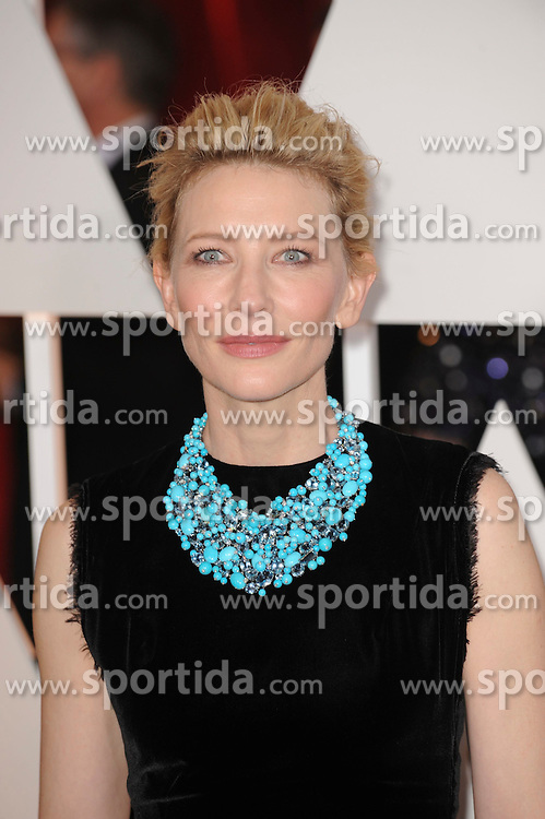 22.02.2015, Dolby Theatre, Hollywood, USA, Oscar 2015, 87. Verleihung der Academy of Motion Picture Arts and Sciences, im Bild Cate Blanchett // attends 87th Annual Academy Awards at the Dolby Theatre in Hollywood, United States on 2015/02/22. EXPA Pictures &copy; 2015, PhotoCredit: EXPA/ Newspix/ PGMP<br /> <br /> *****ATTENTION - for AUT, SLO, CRO, SRB, BIH, MAZ, TUR, SUI, SWE only*****
