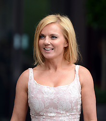 Ginger Spice Geri Halliwell leaves Viva Forever photocall at St Pancras Hotel in London, Tuesday June 26, 2012 .She also produced Mamma Mia! musical,Photo By Gavin Rodgers/i-Images