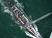 ALINGHI SOARING AHEAD OF TEAM NEW ZEALAND AS THEY EVENTUALLY TAKE THE AMERICA'S CUP WINNING 5-0.