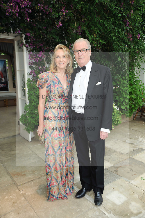 LORD & LADY BELL at the Raisa Gorbachev Foundation Party held at Stud House, Hampton Court Palace on 5th June 2010.  The night is in aid of the Raisa Gorbachev Foundation, an international fund fighting child cancer.