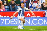 Alex Pritchard of Huddersfield Town (21) in action during the EFL Sky Bet Championship match between Huddersfield Town and Derby County at the John Smiths Stadium, Huddersfield, England on 5 August 2019.