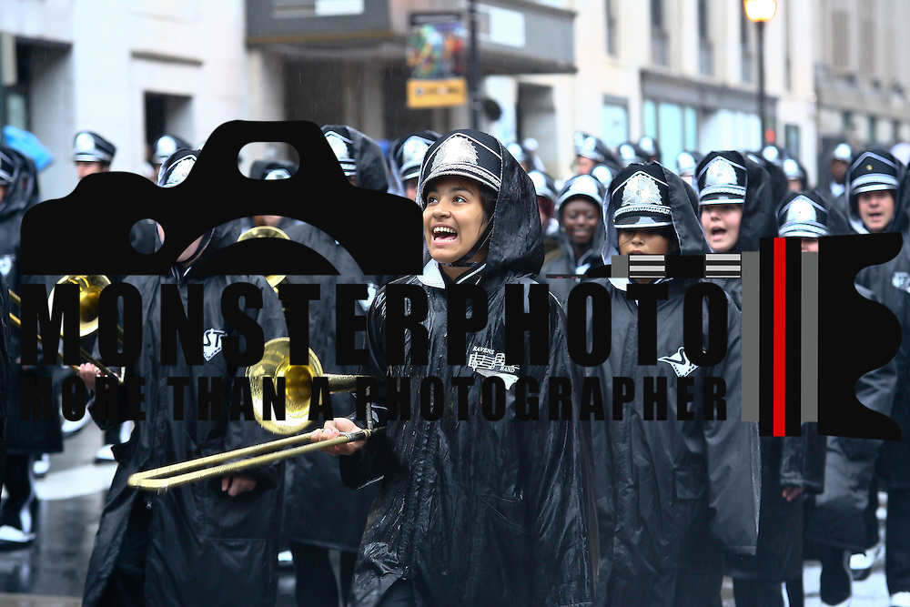 09/03/12 - Wilmington, DE - labor day parade - Sussex Technical High School Marching Band participate in Wilmington's annual labor day parade Monday, Sept. 3 2012, in Wilmington Delaware..SAQUAN STIMPSON/Special to The News Journal