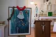 Mother Marianne Cope, St. Francis Church, Kalaupapa Town, Kalaupapa Peninsula, Molokai, Hawaii