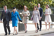 Kate Middleton Joins Royals For Easter Service, Windsor