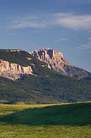Rocky Mountain Front Range near Choteau Montana