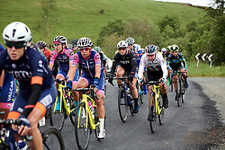 The peloton speed by on Stage 5 of 2019 OVO Women's Tour, a 140 km road race from Llandrindod Wells to Builth Wells, United Kingdom on June 14, 2019. Photo by Sean Robinson/velofocus.com
