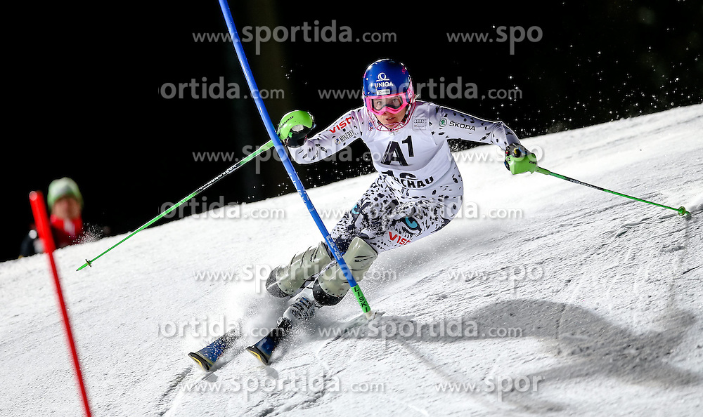 13.01.2015, Hermann Maier Weltcupstrecke, Flachau, AUT, FIS Weltcup Ski Alpin, Flachau, Slalom, Damen, 1. Lauf, im Bild Veronika Velez Zuzulova (SVK) // Veronika Velez Zuzulova of Slovakia in action during 1st run of the ladie's Slalom of the FIS Ski Alpine World Cup at the Hermann Maier Weltcupstrecke in Flachau, Austria on 2015/01/13. EXPA Pictures © 2015, PhotoCredit: EXPA/ Johann Groder