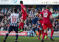 Football - 2016 / 2017 FA Cup - Fifth Round: Millwall vs. Leicester City <br /> <br /> Steve Morison of Millwall and of Leicester City at The Den<br /> <br /> COLORSPORT/DANIEL BEARHAM