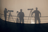 Shadow Photographers Waiting for Sunset on the M/V Explorer. Image taken with a Nikon D3x and 24 mm f/1.4G lens (ISO 100, 24 mm, f/16, 1/100 sec).