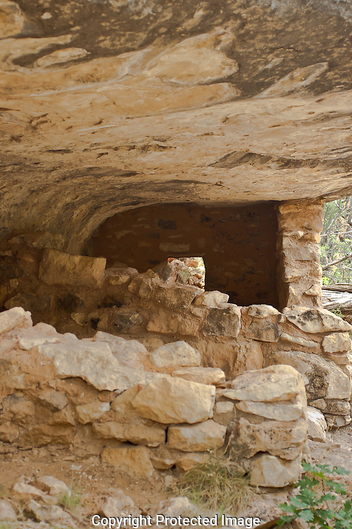 """Walnut Canyon National Monument was home to the Sinagua peoples.  The hardiness and ingenuity of these people allowed them to survive by farming, hunting, and trading in this relatively dry region more than 800 years ago.The Hopi call their ancestors the Hisatsinom """"people of long ago""""."""