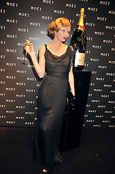 OLIVIA INGE at the Moet & Chandon Tribute to Cinema party held at the Big Sky Studios, Brewery Road, London N7 on 24th March 2009.