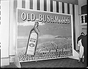 Bushmills Whiskey reception at the Hibernian Hotel..14.04.1961