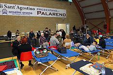 20120521 TERREMOTO 2012- CAMPO ACCOGLIENZA AL PALARENO DI SANT'AGOSTINO