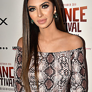 Faryal Makhdoom attend World Premiere of Team Khan - Raindance Film Festival 2018 at Vue Cinemas - Piccadilly, London, UK. 29 September 2018.