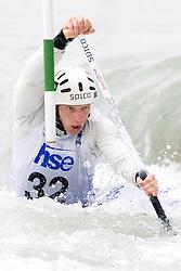 Benjamin Savsek of KKK Tacen competes in the Men's Canoe Single C-1 at kayak & canoe slalom race on May 9, 2010 in Tacen, Ljubljana, Slovenia. (Photo by Vid Ponikvar / Sportida)