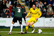 Oxford Utd's Danny Hylton during the Sky Bet League 2 match between Plymouth Argyle and Oxford United at Home Park, Plymouth, England on 5 March 2016. Photo by Graham Hunt.