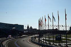 10.10.2014, Sochi Autodrom, Sotschi, RUS, FIA, Formel 1, Grosser Preis von Russland, Training, im Bild Daniil Kvyat (RUS) Scuderia Toro Rosso STR8. // during the Practice of the FIA Formula 1 Russia Grand Prix at the Sochi Autodrom in Sotschi, Russia on 2014/10/10. EXPA Pictures © 2014, PhotoCredit: EXPA/ Sutton Images/ Lundin<br /> <br /> *****ATTENTION - for AUT, SLO, CRO, SRB, BIH, MAZ only*****