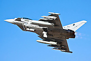 Italian Air force Eurofighter Typhoon in flight