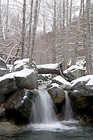 Waterfall, Angeles National Forest, Mount Baldy, California