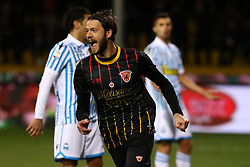 December 17, 2017 - Benevento, Campania, Italy - ANDREA COSTA (Benevento Calcio) scores a goal during the Serie A match between Benevento Calcio and Spal at Stadio Ciro Vigorito on December 17, 2017 in Benevento, Italy  (Credit Image: © Paolo Manzo/NurPhoto via ZUMA Press)