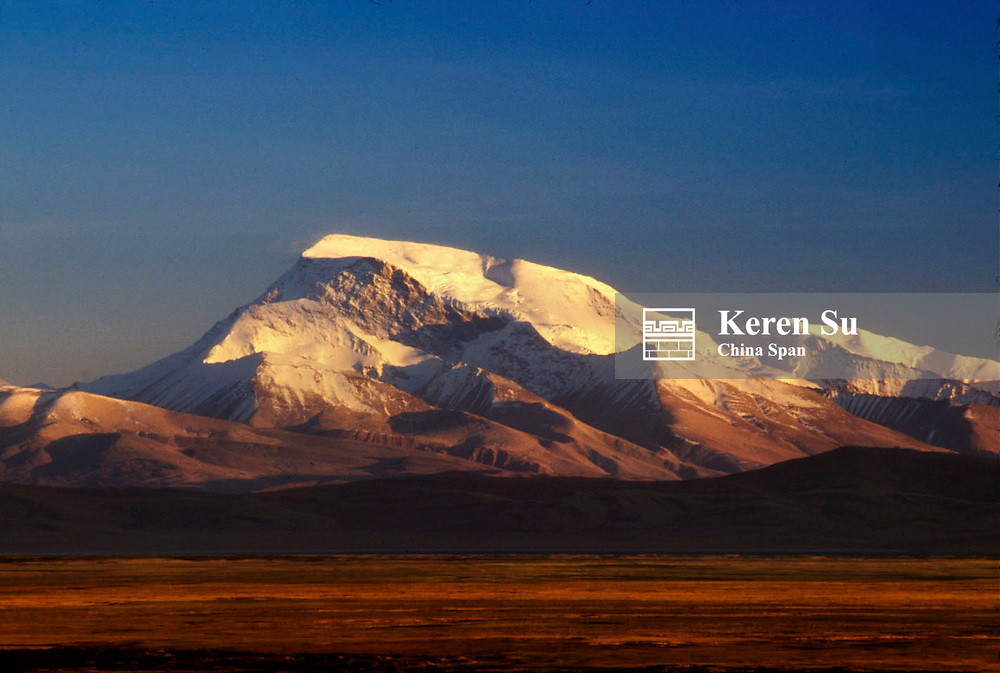 Peak Namunani, the Himalayas Range at sunset, Ali area, Tibet, China